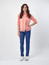 Slim Leg Full Length Lightweight Denim Pull On