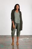 Shawl Collar Long Cardigan
