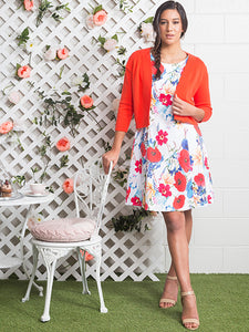 Valentine Fit & Flare Dress