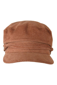 ARYA Cord Cap with Side Buttons