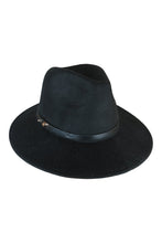 Oslo Fedora in Black