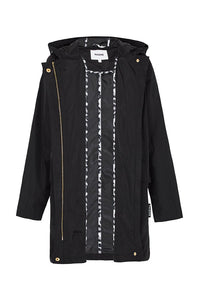 Womens Anyday Raincoat in Black