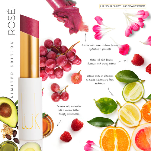 Lip Nourish LIMITED EDITION Rosé Natural Lipstick