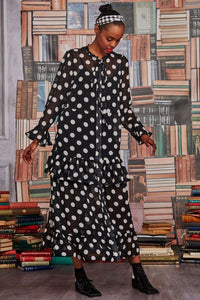 Long with the wind polka dot dress Curate designed by Trelise Cooper