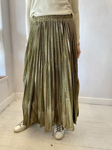 Frankie Long Metallic Skirt