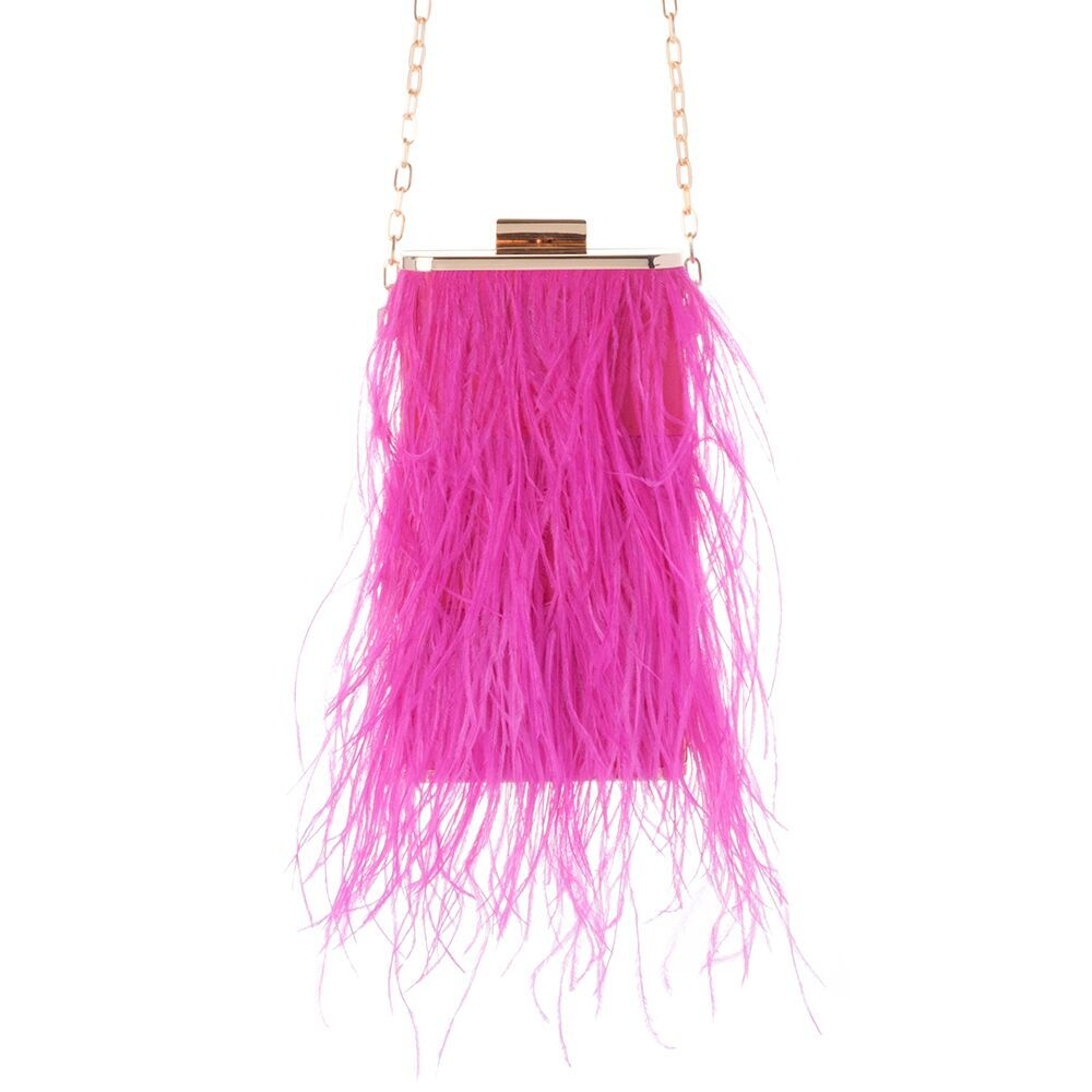 Tonia Shoulder Bag in Fuchsia