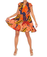 Olivia Play Dress in Tribal Print