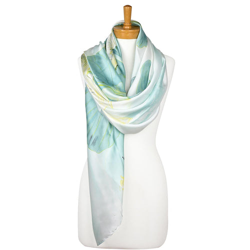 Light Teal: Lily Pad Scarf