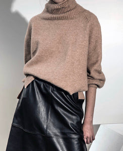 Ohio Leather Skirt