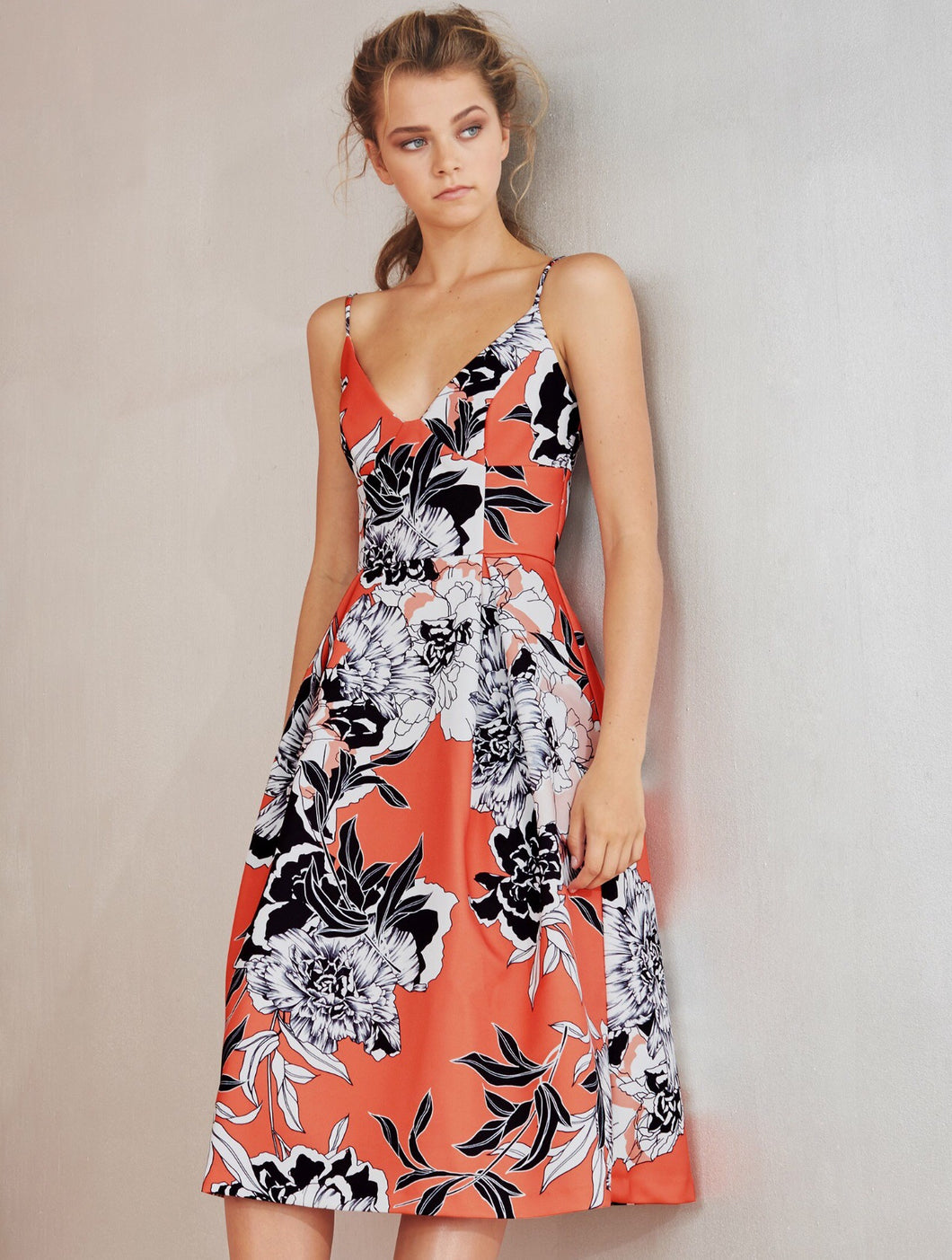 Ember Blooms Dress