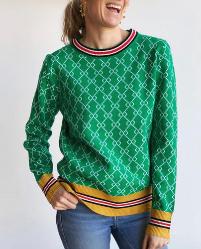 PRE-ORDER | Frankie Gucci Knit in Green
