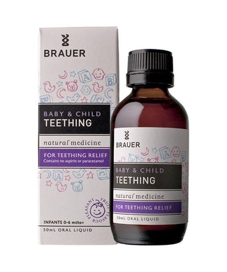Brauer Natural Medicine Baby & Child Teething Relief 50ml