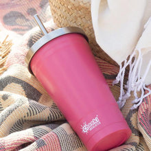 CHEEKI Insulated Tumbler - Dusty Pink - With S/Steel Straw - 500ml