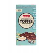 ALTER ECO Dark Coconut Toffee 80g - Organic Chocolate