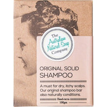 THE AUST. NATURAL SOAP CO Solid Shampoo Bar - Original - 100g