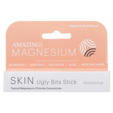 Amazing Oils Ugly Bits Magnesium Stick Roll-On 15ml