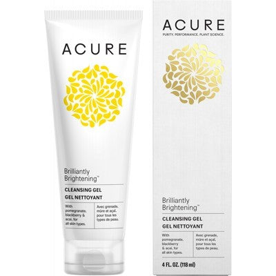 ACURE Brilliantly Brightening Cleansing Gel - 118ml