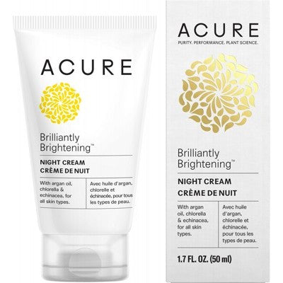 ACURE Brilliantly Brightening Night Cream - 50ml