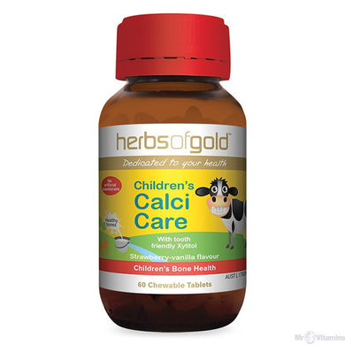 Herbs of Gold Children's Calci Care 60t chewable