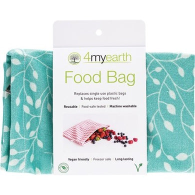 4MYEARTH Food Bag - Leaf - 25x20cm