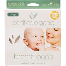 NATURE'S CHILD Large Cotton Breast Pads 6 pack