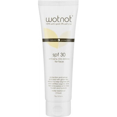 WOTNOT Anti-Aging Face Sunscreen SPF30+ - 75g
