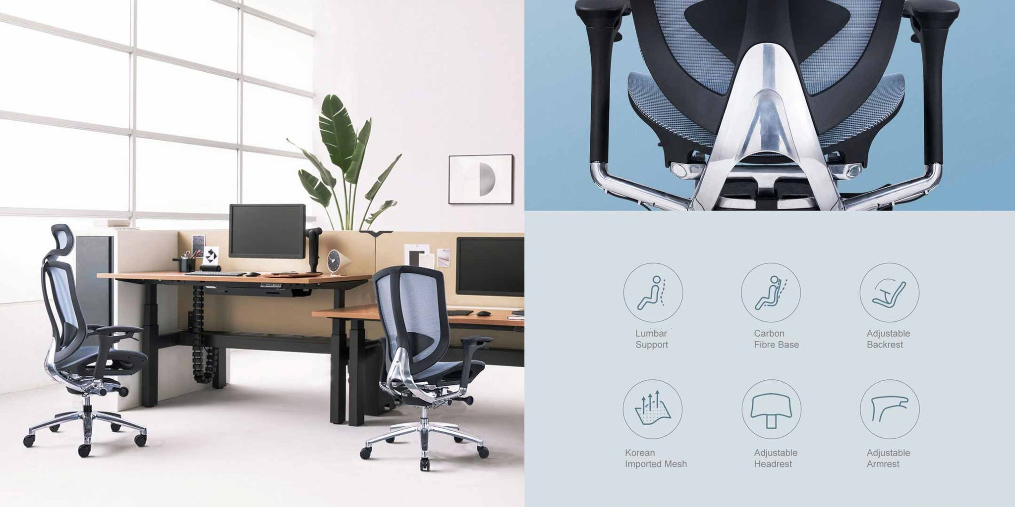 A Good Office Chair Supports You, Even When Your Posture is Poor