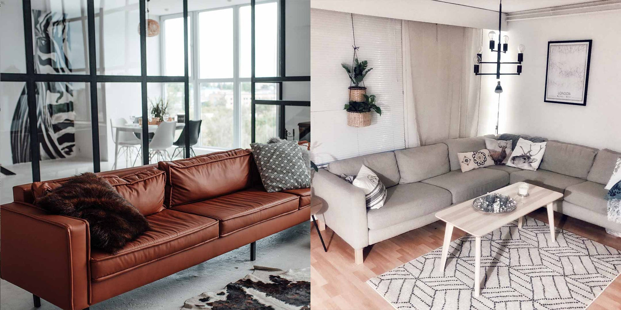 Leather or Fabric Sofa - Variety