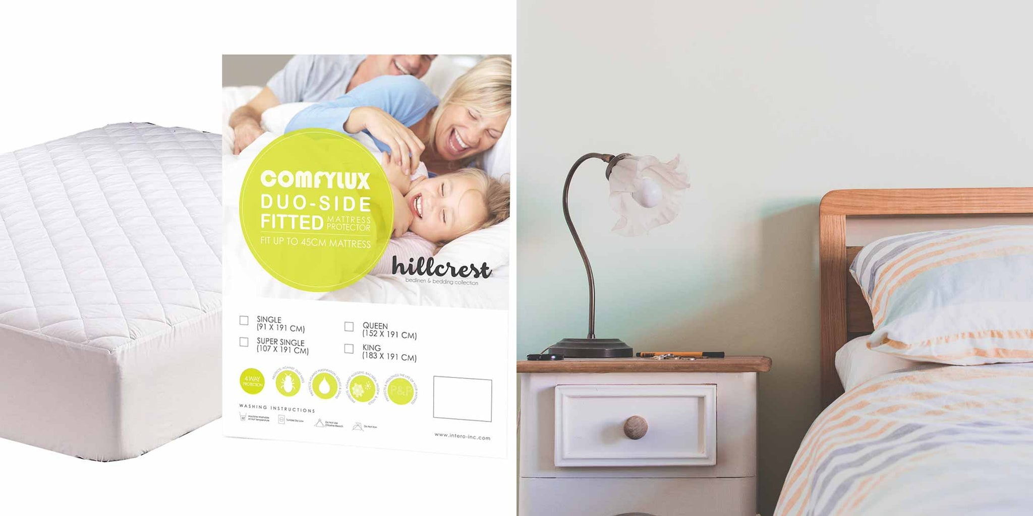 Monitor your bedroom and use mattress protectors to prevent bed bugs