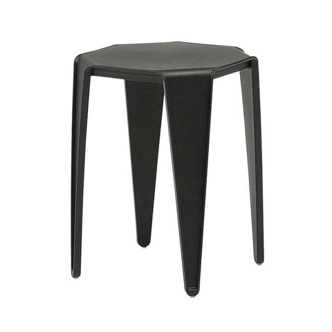 Aden Black Stool-Megafurniture