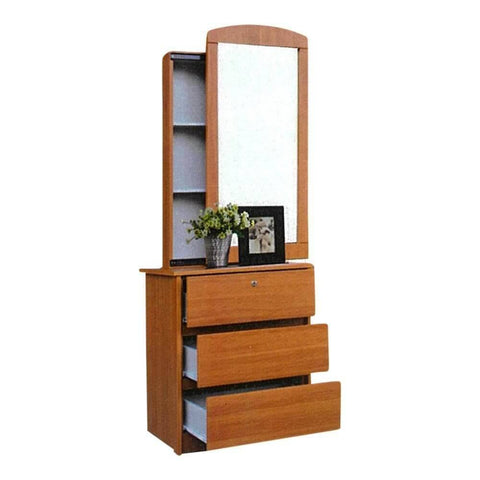 Aeker Cherry Dressing Table-Megafurniture