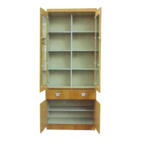 Ain Cherry Bookshelf-Megafurniture