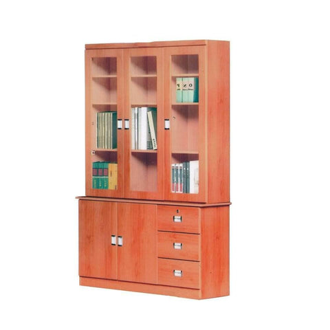 Ainsley Senior Cherry Bookshelf-Megafurniture