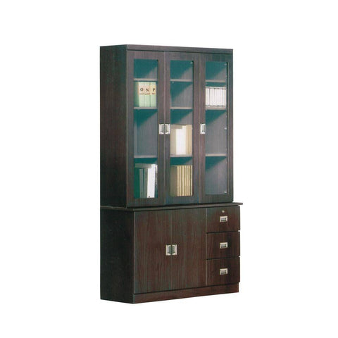 Ainslie Senior Walnut Bookshelf-Megafurniture