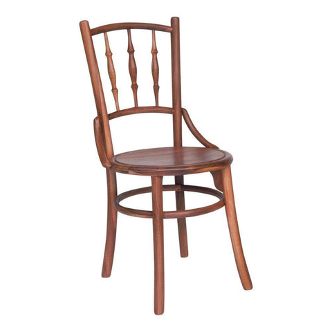 Albert Teak Wood Dining Chair-Megafurniture