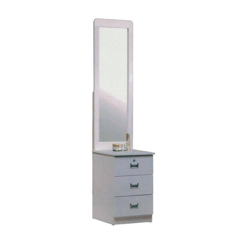 Alden White Dressing Table-Megafurniture