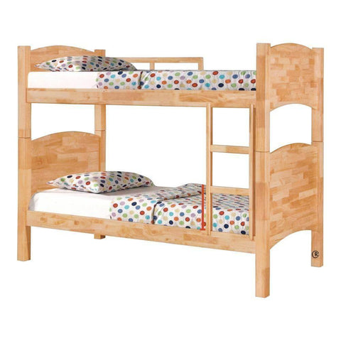 Alicia Wooden Double Decker Bed Frame-Megafurniture