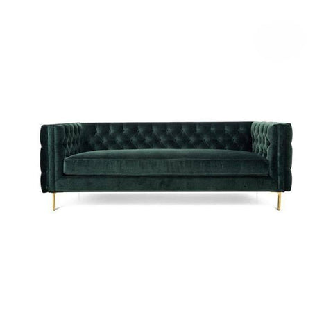 Angelo Green Velvet Sofa-Megafurniture