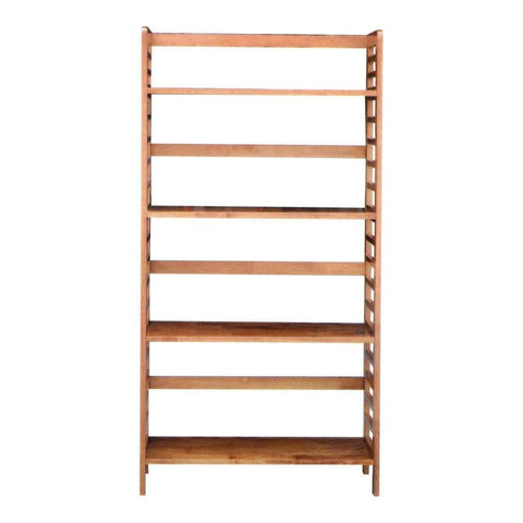 Arnatte Solid Wood Bookshelf-Megafurniture