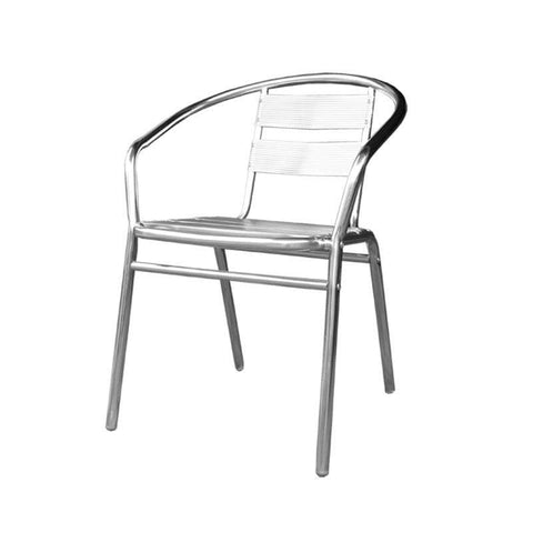 Arnel Aluminium Chair-Megafurniture