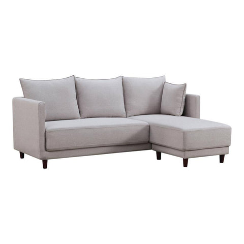 Arnett L-Shape Fabric Sofa-Megafurniture