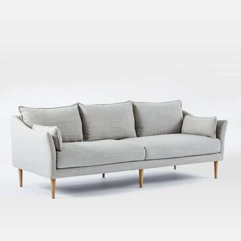 Ascot Grey Fabric Sofa-Megafurniture