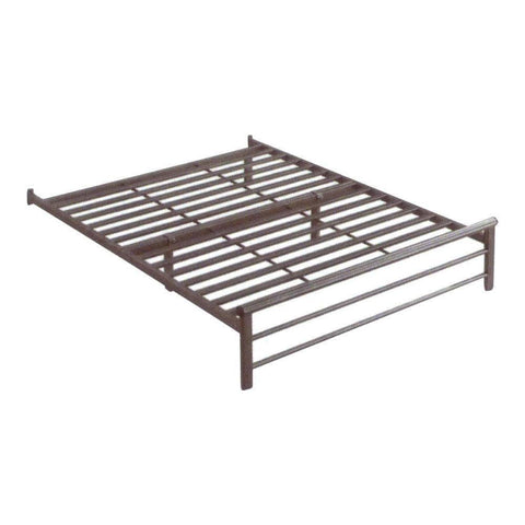 Atria Black Metal Bed Frame - Queen-Megafurniture