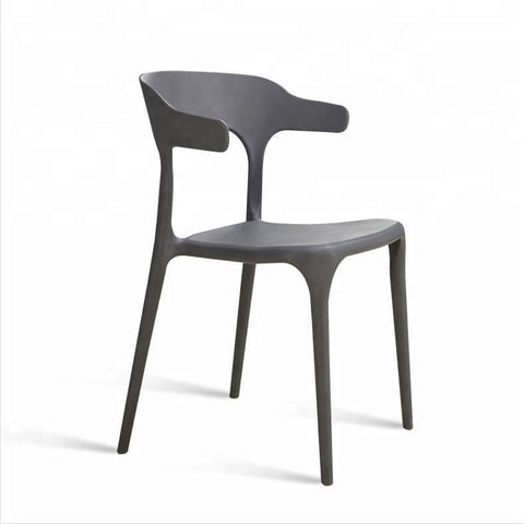 Bale Wishbone Grey Chair-Megafurniture