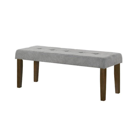 Barbara Grey Dining Bench-Megafurniture