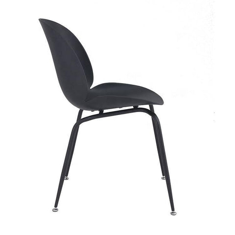 Beetle Replica Black Chair-Megafurniture