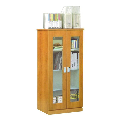 Berlin Cherry Bookshelf-Megafurniture