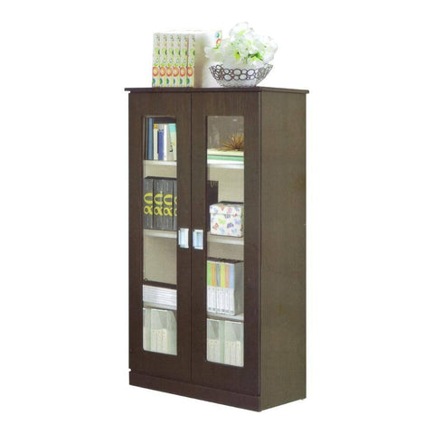 Berlin Walnut Bookshelf-Megafurniture