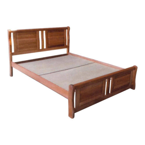 Brenda Wooden Bed - Queen-Megafurniture