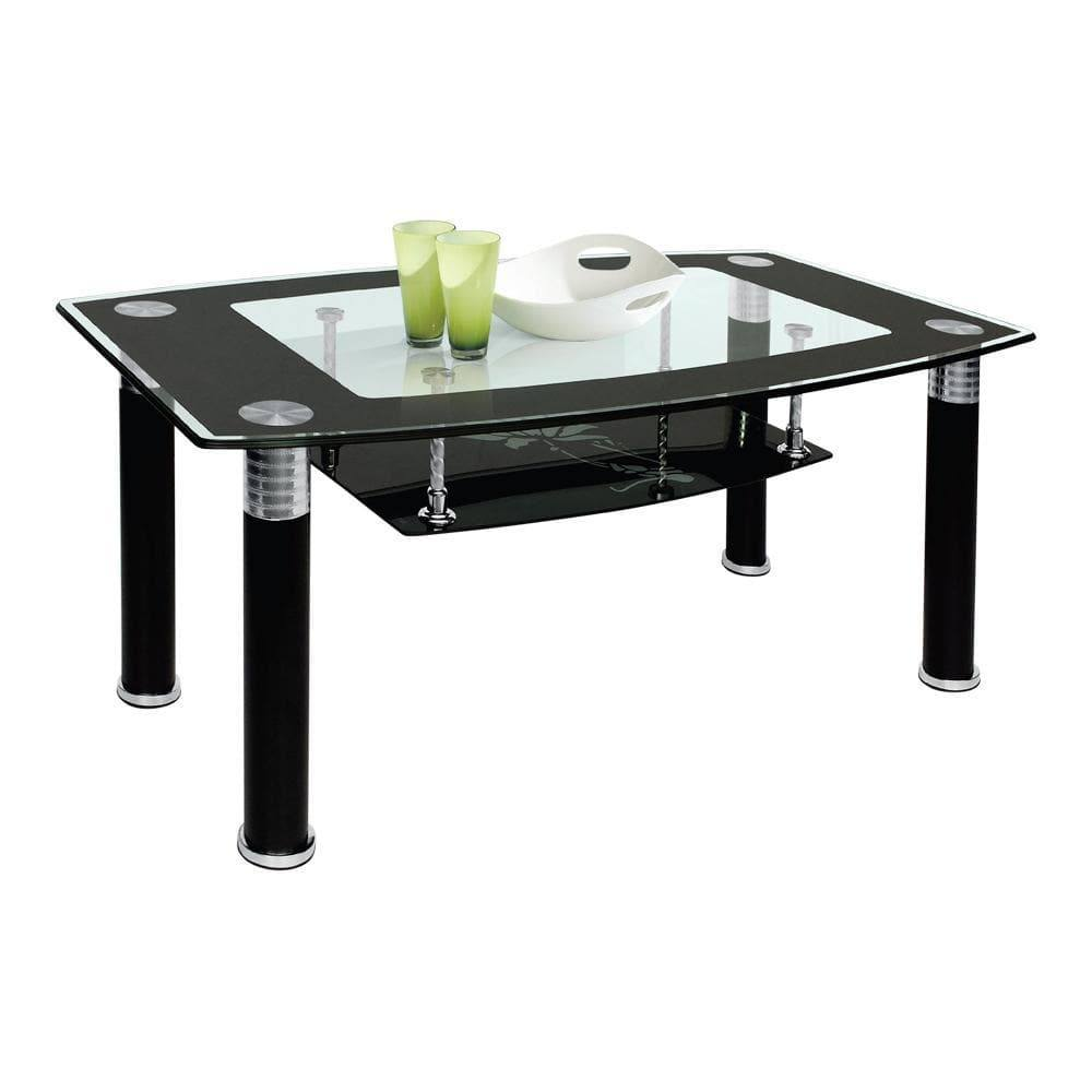 Cameron Coffee Table: Cameron Black Coffee Table